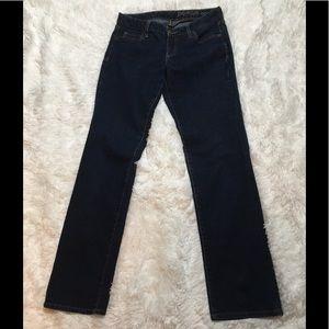 GAP Women's 2/26R Premium Curvy Straight Jeans
